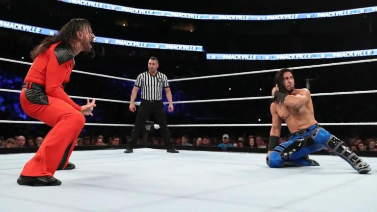 Shinsuke Nakamura vs. Mustafa Ali