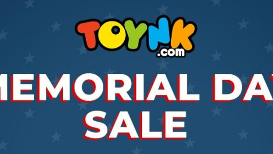 Our friends over at Toynk.com are having a Memorial Day sale starting today -- customers who hit up the site and buy any two select items will get a third item for free. The discount will be applied at checkout.