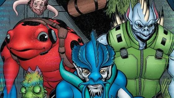 Upcoming graphic novel series Alter Nation hits comic shops October 6.