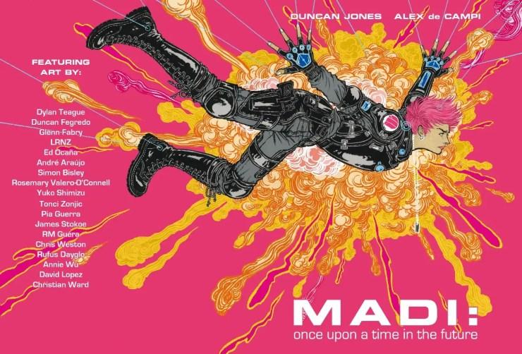 Sci-Fi series Madi