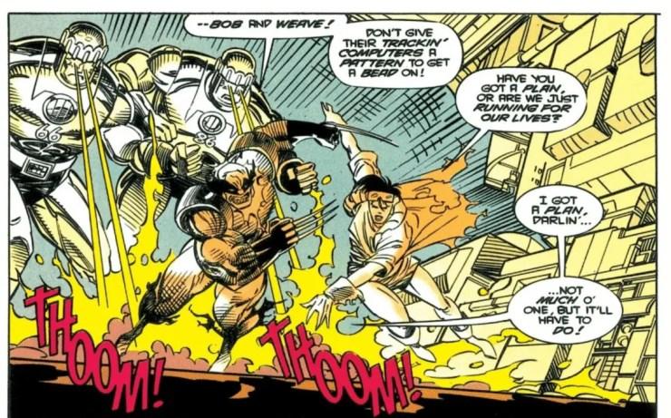 X-Men Sentinels