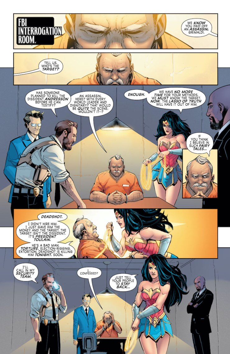DC Preview: Wonder Woman: Agent of Peace #5