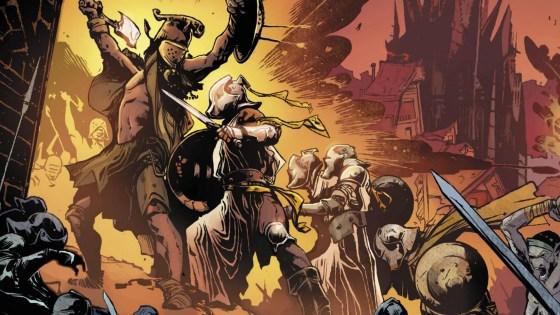 Vault Comics First Look: Brandon Sanderson's 'Dark One' OGN plus early release details