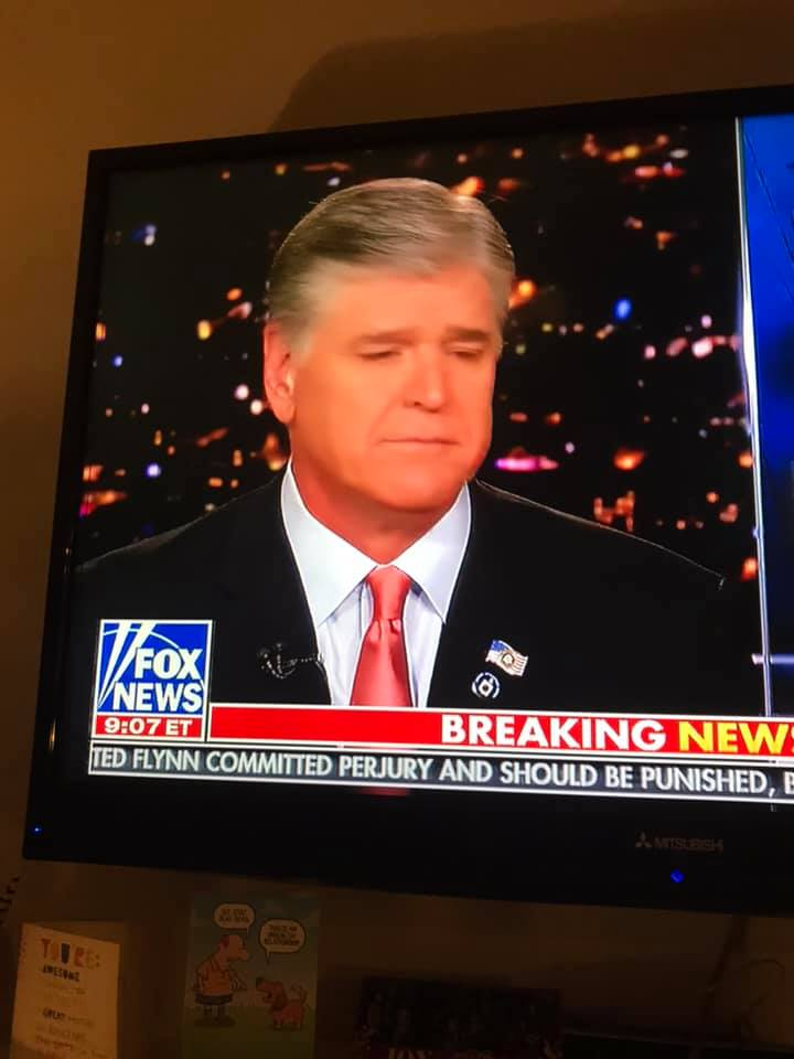 Sean Hannity No Punisher Pin