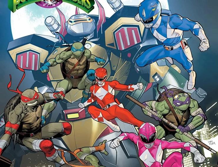 Mighty Morphin Power Rangers/Teenage Mutant Ninja Turtles #5