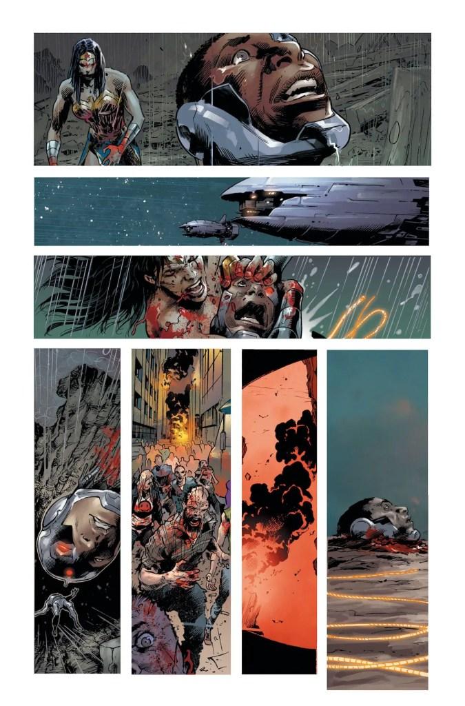 DC Comics First Look: DCeased: Dead Planet #1