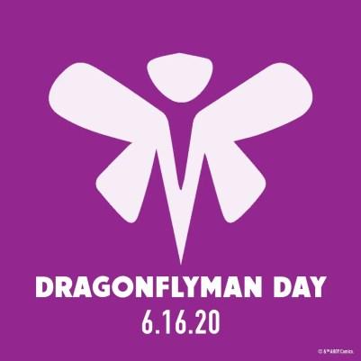 "Ahoy Comics writer Tom Peyer dishes on ""Dragonflyman Day"""
