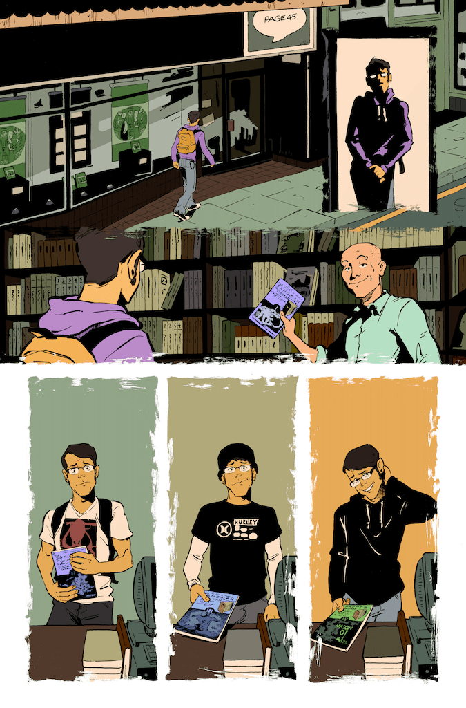 AfterShock comics releasing 48-page 'Support Our Shops' comic at no charge to comic shops