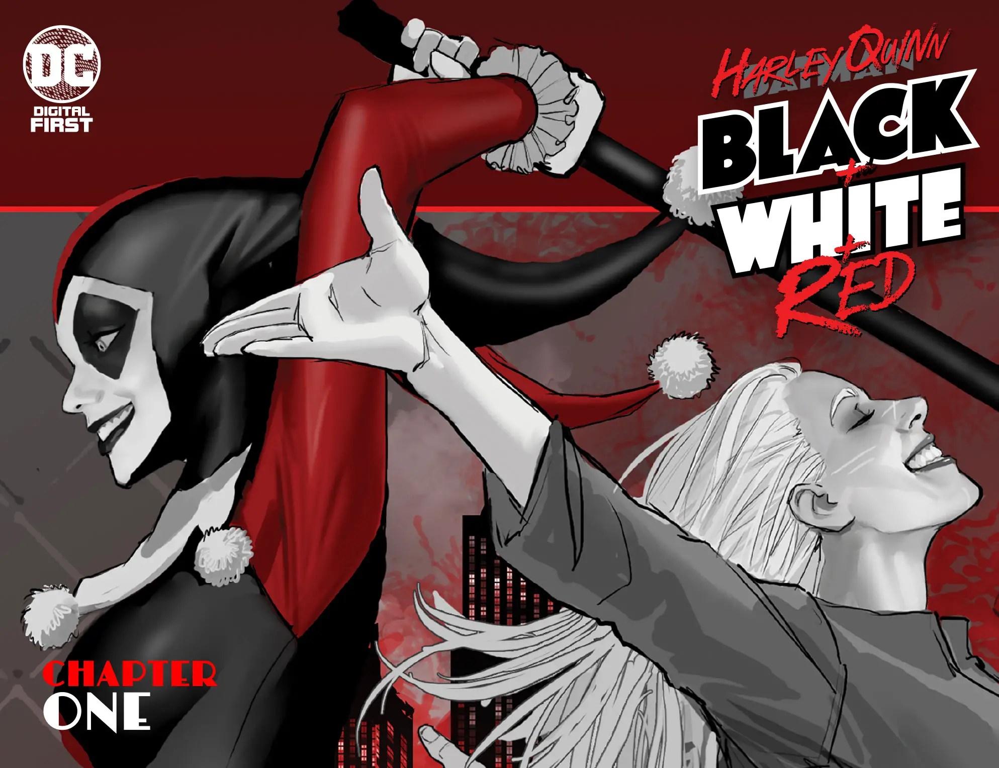 'Harley Quinn: Black + White + Red' #1 review
