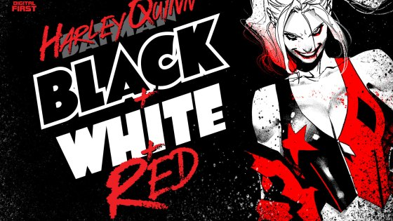 DC First Look: 'Harley Quinn: Black + White + Red' digital-first series