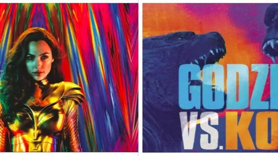 Wonder Woman 1984 Godzilla vs. Kong
