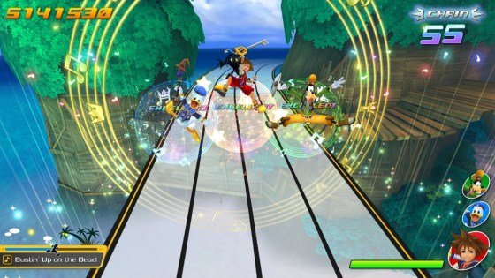 Kingdom Hearts: Melody of Memory is a rhythm game launching later this year