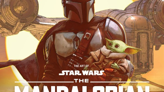 Star Wars 'Art of Mandalorian' cover