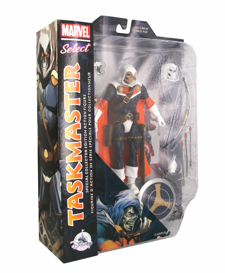 Taskmaster packaging