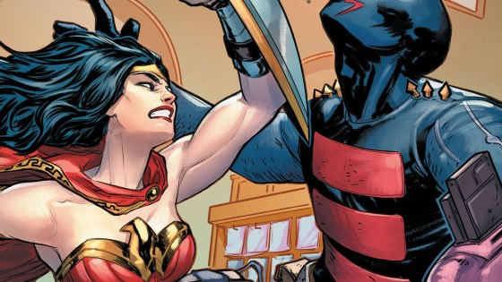"""Wonder Woman: Agent of Peace #7 features the story """"With Friends Like These."""""""