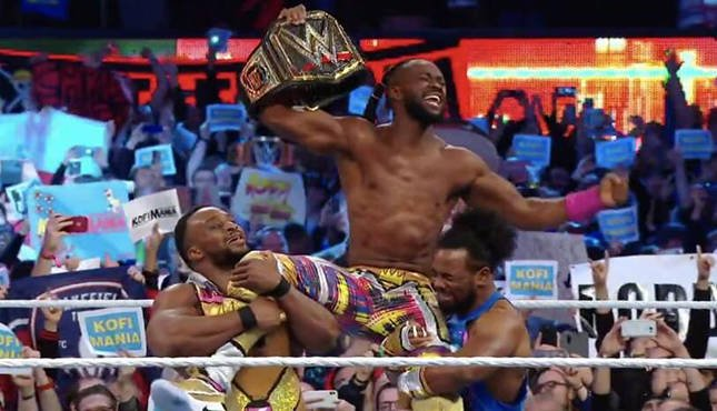 WWE New Day WrestleMania 36