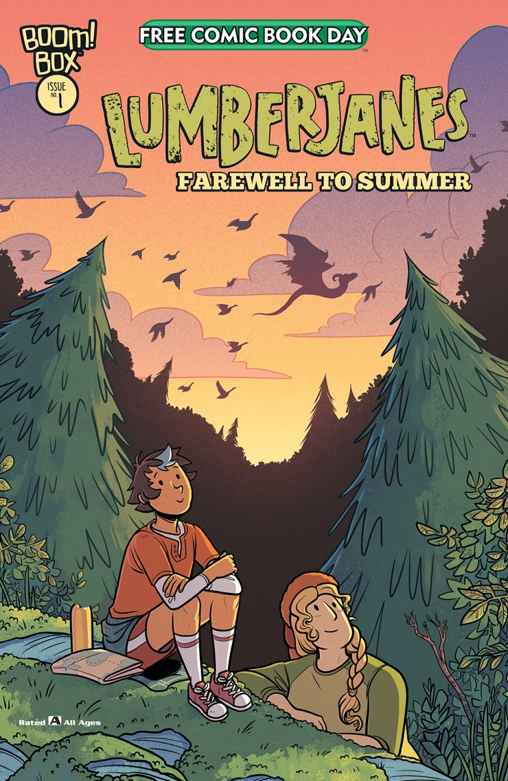 Power Rangers and Lumberjanes free releases rescheduled to July and August
