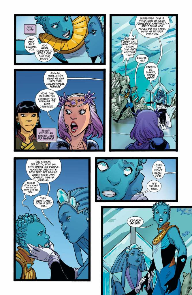 DC Preview: Amethyst #3
