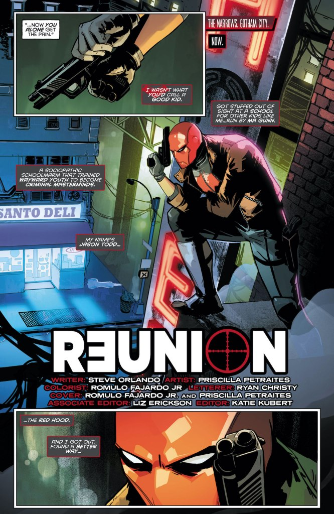 Batman: Gotham Nights #11 - Red Hood