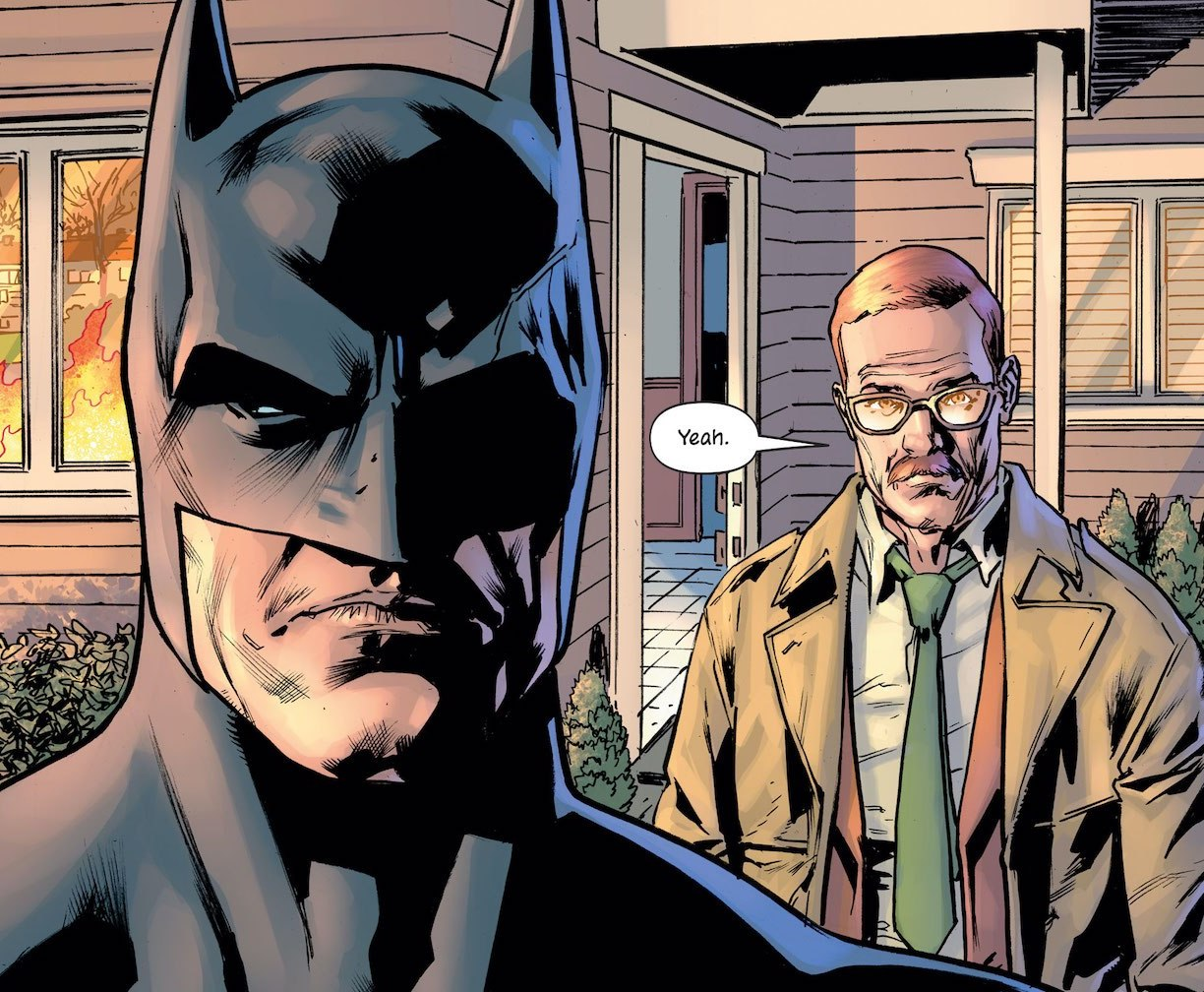 'The Batman's Grave' #7 review: Violent and uncompromising now that the world has changed