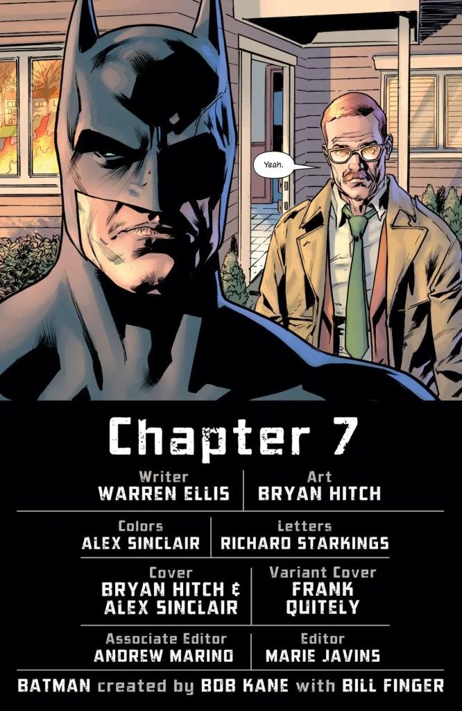 DC Preview: The Batman's Grave #7