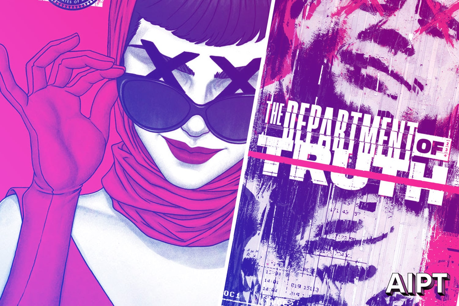 'The Department of Truth' #1 review