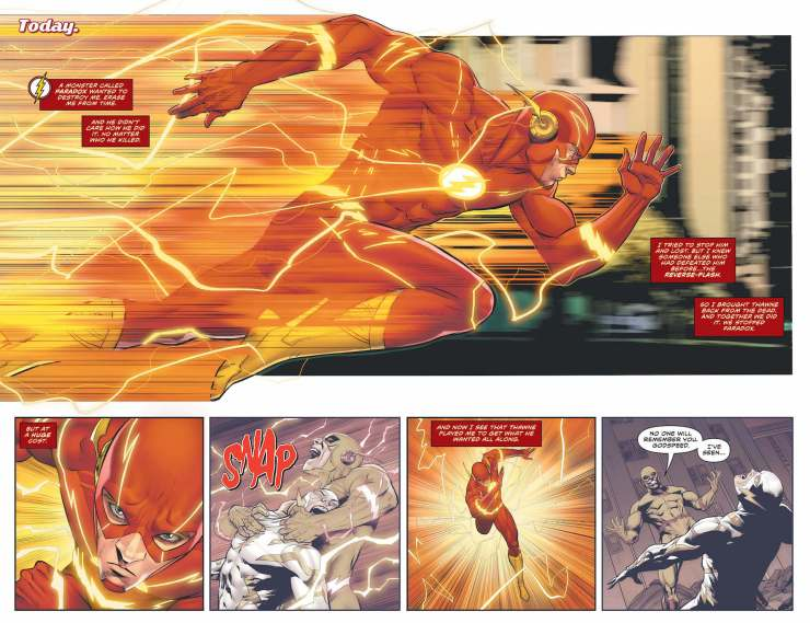 DC Preview: The Flash #756
