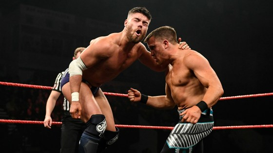 Pro wrestling - Jordan Devlin vs. Travis Banks