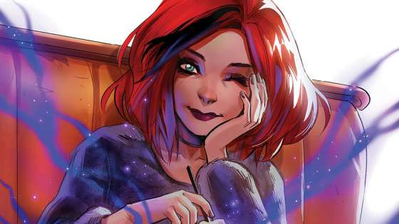 You can spy Andolfo's first cover for Buffy the Vampire Slayer: Willow #1.