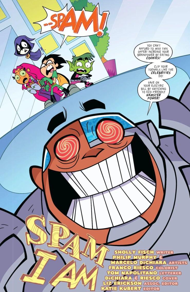 DC Preview: Teen Titans Go! Booyah #4