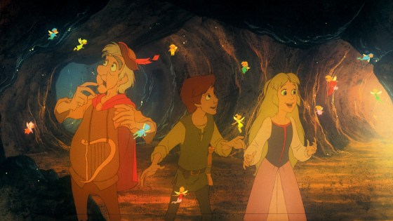 'The Black Cauldron' is mostly enjoyable.