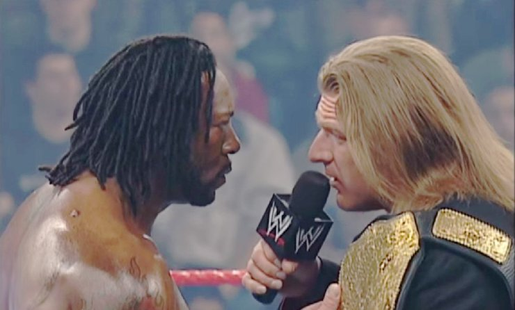 Triple H vs. Booker T