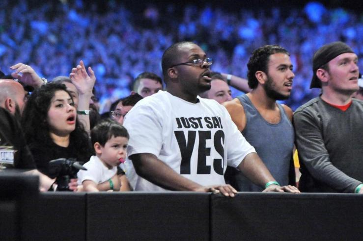 Wrestling fan shocked at The Undertaker's loss at WrestleMania XXX