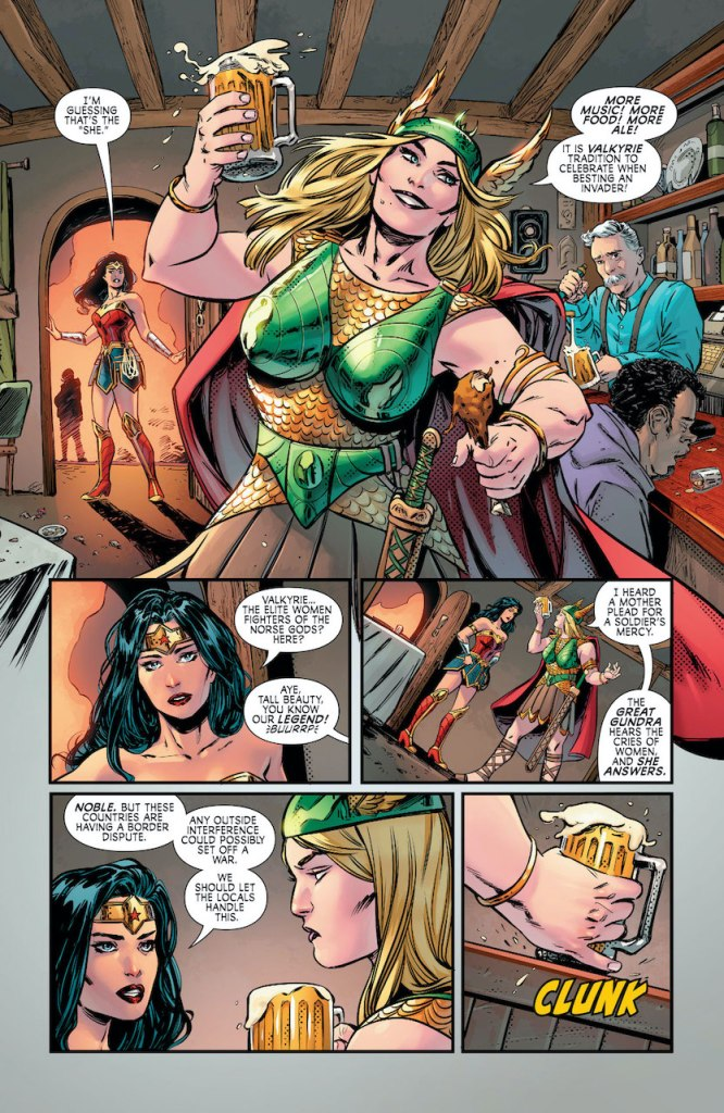 DC Preview: Wonder Woman: Agent of Peace #6