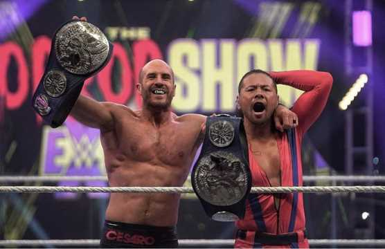 Extreme Rules - Cesaro and Nakamura