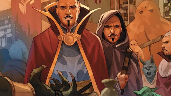 Doctor Strange must navigate multiple magical realms in this adventurous issue.