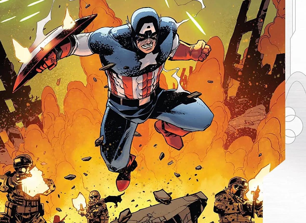 'Empyre: Captain America' #1 review