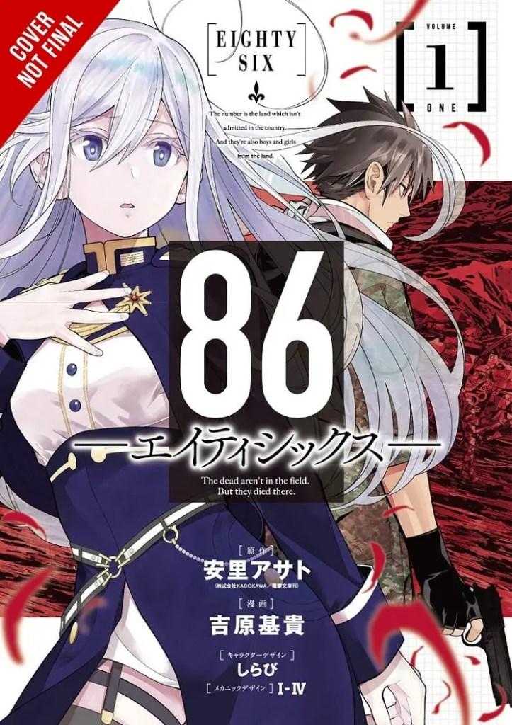 Yen Press 86 Eighty Six Manga