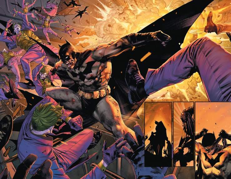 DC First Look: Unlettered Batman #97 preview