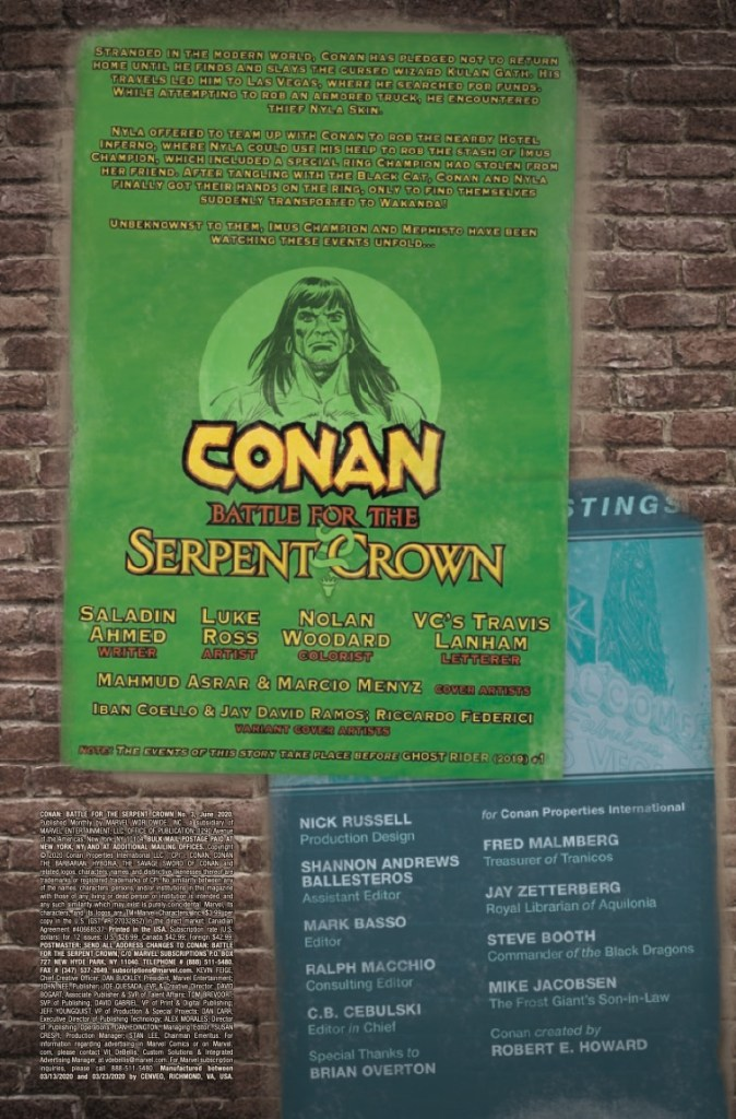 Marvel Preview: Conan: Battle For The Serpent Crown #3