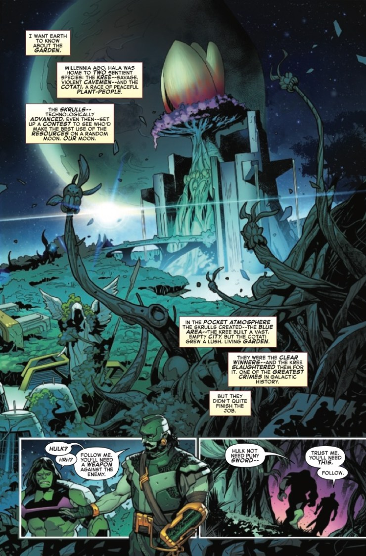 Marvel Preview: Empyre #1: Director's Cut
