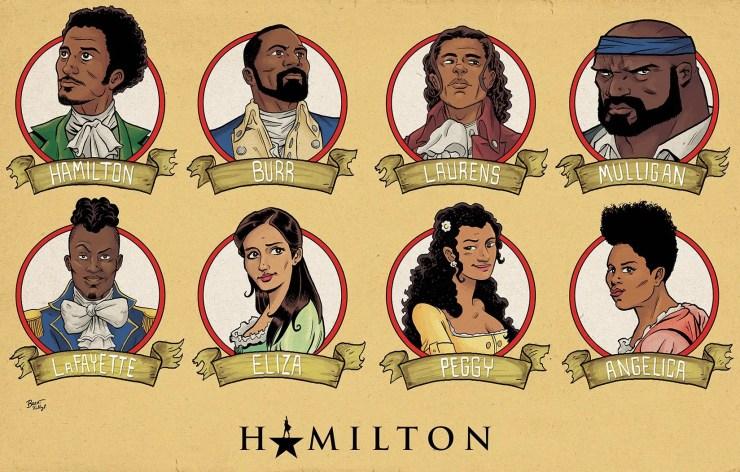 Hamilton graphic novel