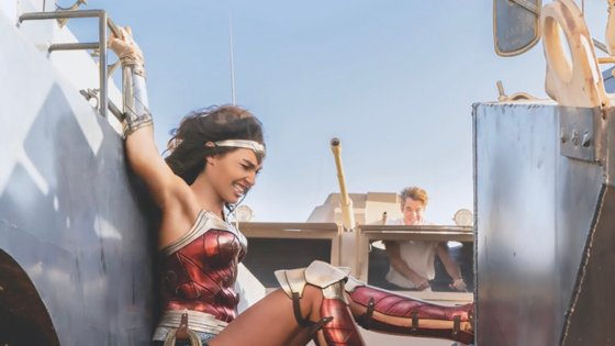 Get a closer look at a young Wonder Woman and Cheetah in these Wonder Woman 1984 images.