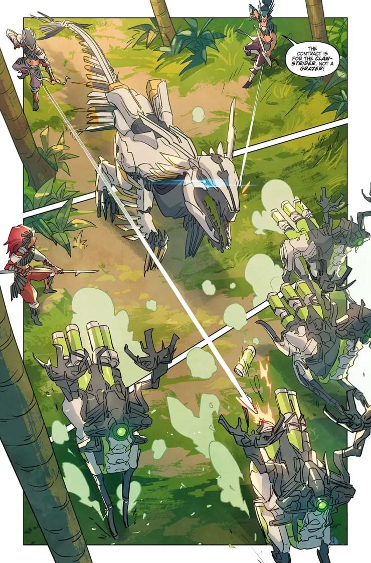 First Look: 'Horizon Zero Dawn' comic book artwork