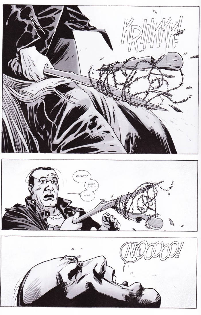 The Walking Dead Lucille Death