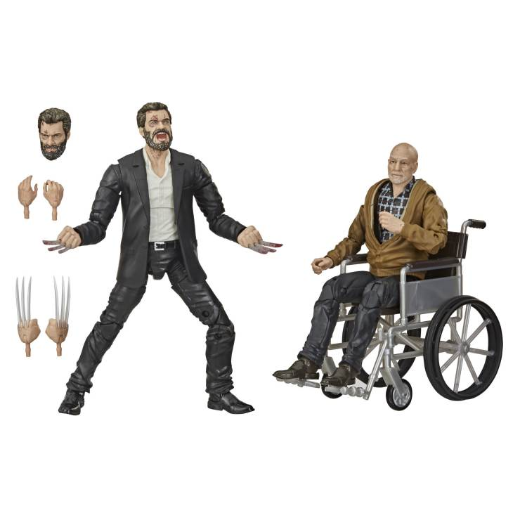 Marvel Legends Charles and Logan 1