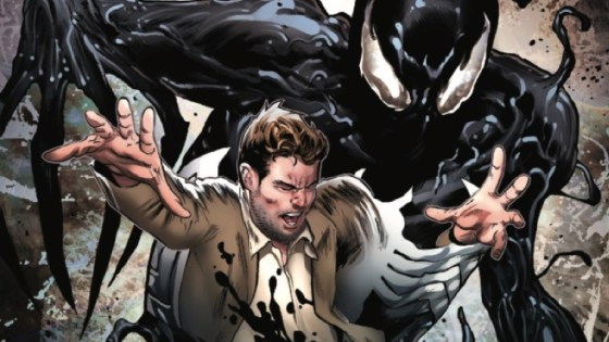 Symbiote Spider-Man is back from Peter David and Greg Land.