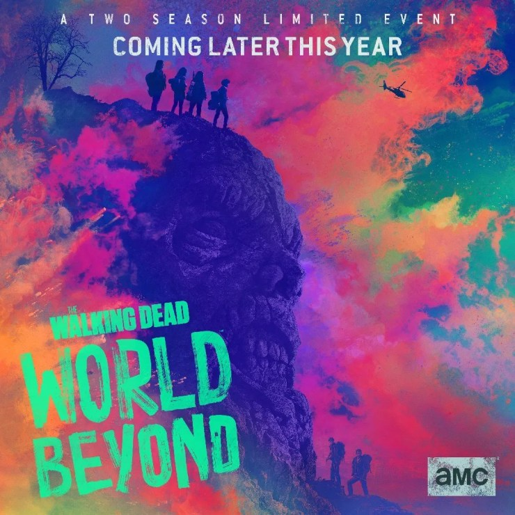 SDCC TV Walking Dead World Beyond