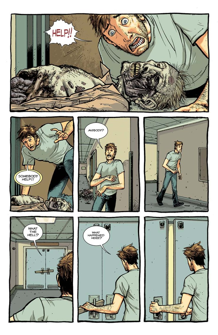 'The Walking Dead' comic series to be reprinted in full color starting October 7