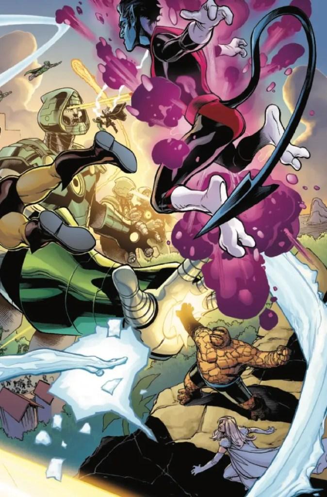 Marvel Preview: X-Men/Fantastic Four #4